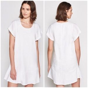 Joie Carlen Linen Mini Swing Dress